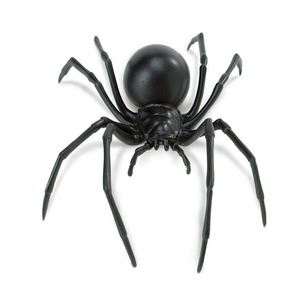 Safari Ltd Black Widow Spider - large - AnimalKingdoms.co.nz