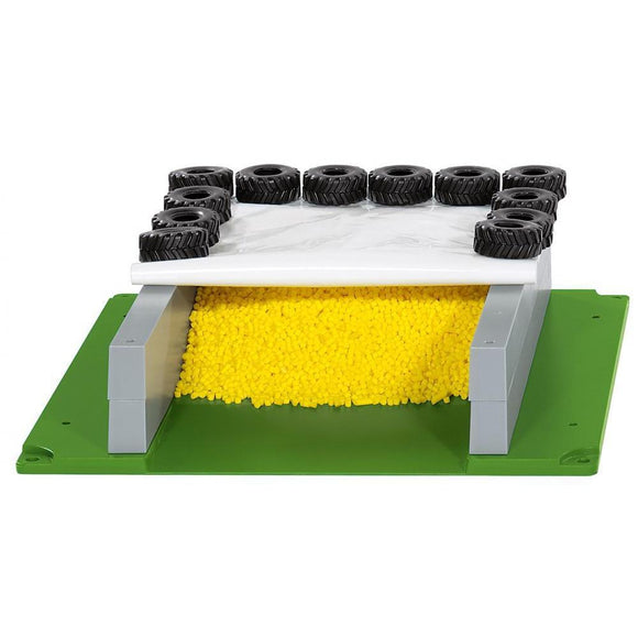 Siku World Farm Silage Pit with Cover, Tyres & Grain-SKU5606-Animal Kingdoms Toy Store
