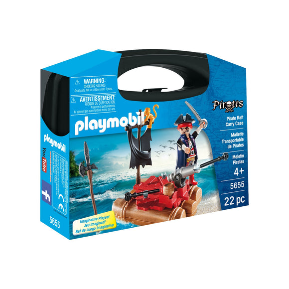 Playmobil Pirate Raft Carry Case-5655-Animal Kingdoms Toy Store
