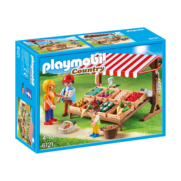 Playmobil Country Farmer's Market-6121-Animal Kingdoms Toy Store