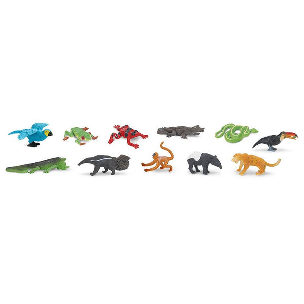 Safari Ltd Rainforest Toob-SAF680504-Animal Kingdoms Toy Store