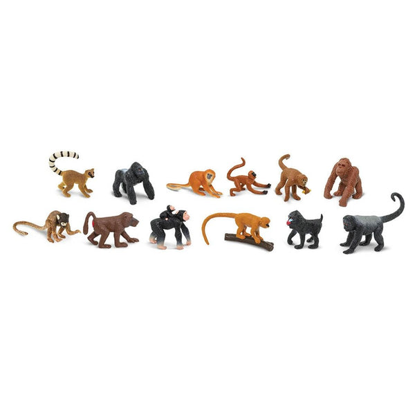 Safari Ltd Monkeys And Apes Toob - AnimalKingdoms.co.nz