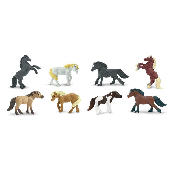 Safari Ltd Ponies Toob-SAF681104-Animal Kingdoms Toy Store