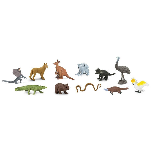 Safari Ltd The Land Down Under Toob-SAF681404-Animal Kingdoms Toy Store
