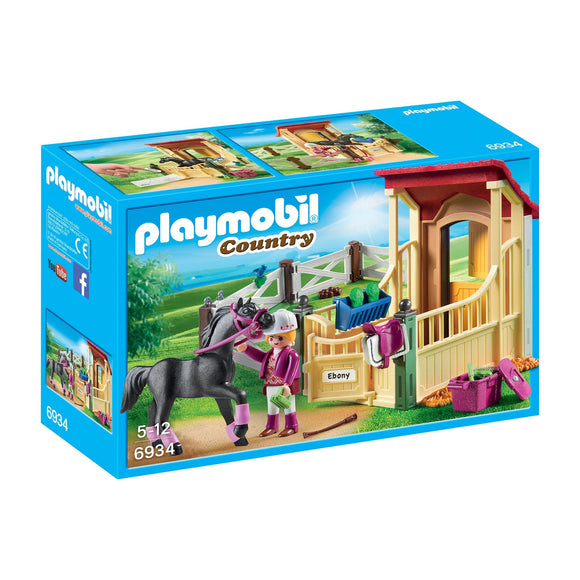 Playmobil Country Horse Stable with Arabian