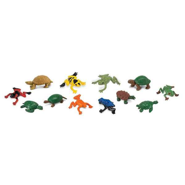Safari Ltd Frogs And Turtles Toob - AnimalKingdoms.co.nz