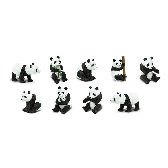 Safari Ltd Pandas Toob-SAF697304-Animal Kingdoms Toy Store