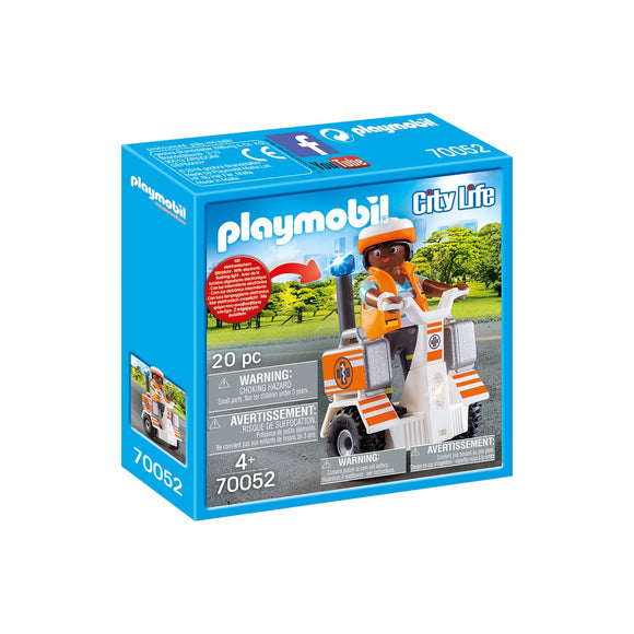 Playmobil Rescue Balance Racer