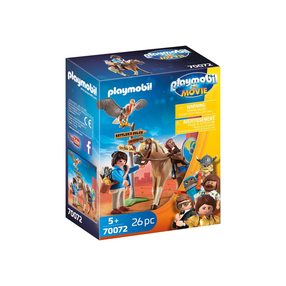 Playmobil Marla with Horse-70072-Animal Kingdoms Toy Store