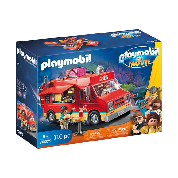 Playmobil Del's Food Truck-70075-Animal Kingdoms Toy Store