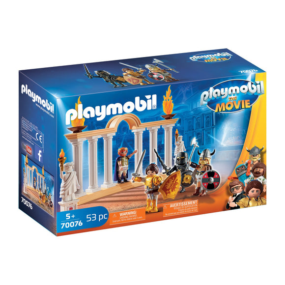 Playmobil Marla & Colosseum-70076-Animal Kingdoms Toy Store