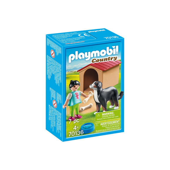Playmobil Country Dog With Kennel