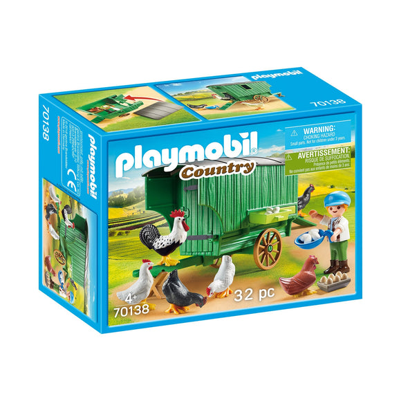 Playmobil Country Chicken Coop-70138-Animal Kingdoms Toy Store
