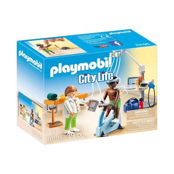 Playmobil Physical Therapist-70195-Animal Kingdoms Toy Store