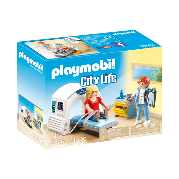 Playmobil Radiologist-70196-Animal Kingdoms Toy Store