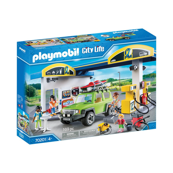 Playmobil City Life Gas Station