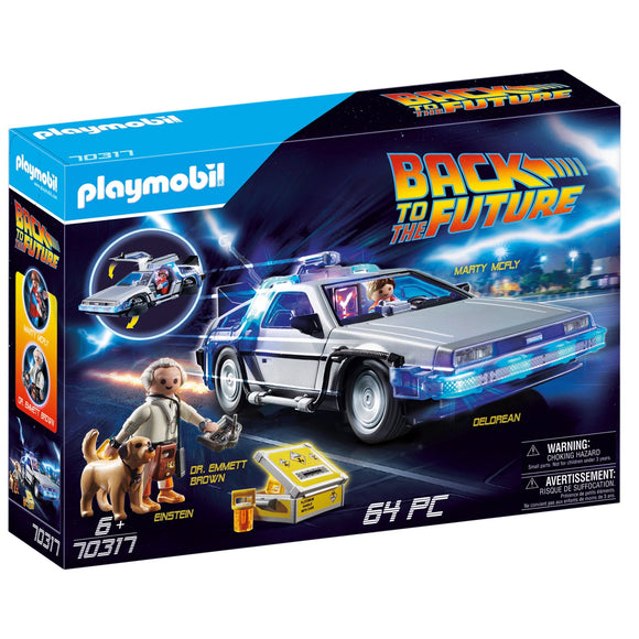 Playmobil Back to the Future DeLorean-70317-Animal Kingdoms Toy Store