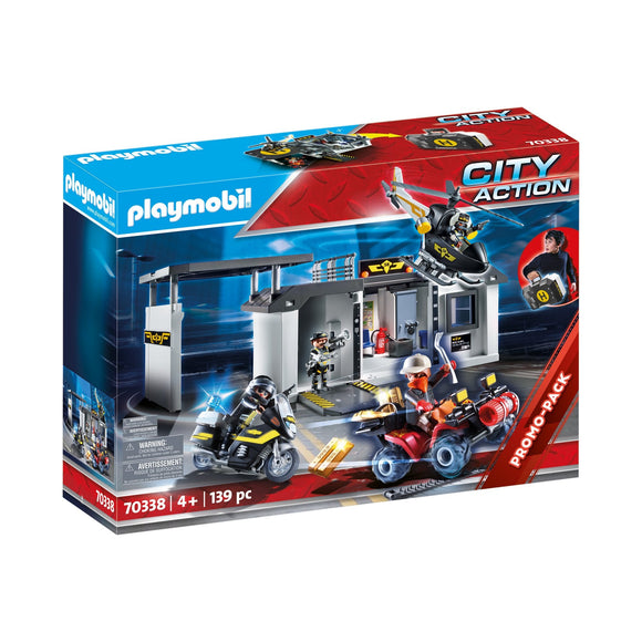 Playmobil Take Along Tactical Unit Headquarters Playset-70338-Animal Kingdoms Toy Store
