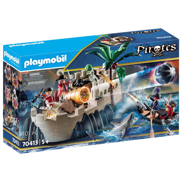 Playmobil Pirates Redcoat Bastion