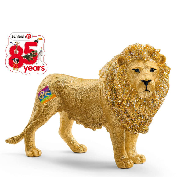 Schleich Special Edition 85 Years Golden Lion-72156-Animal Kingdoms Toy Store