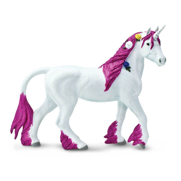 Safari Ltd Pink Unicorn-SAF802929-Animal Kingdoms Toy Store