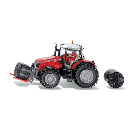 Siku 1:32 Massey Ferguson 8680 with Accessories-SKU8614-Animal Kingdoms Toy Store