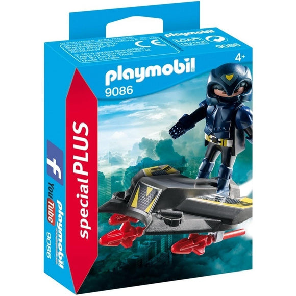 Playmobil Special Plus Sky Knight with Jet-9086-Animal Kingdoms Toy Store
