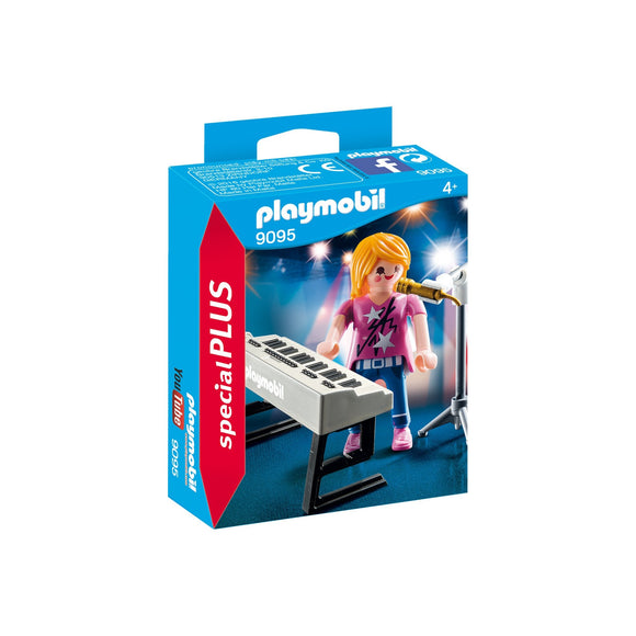 Playmobil Special Plus Singer with Keyboard and Microphone-9095-Animal Kingdoms Toy Store