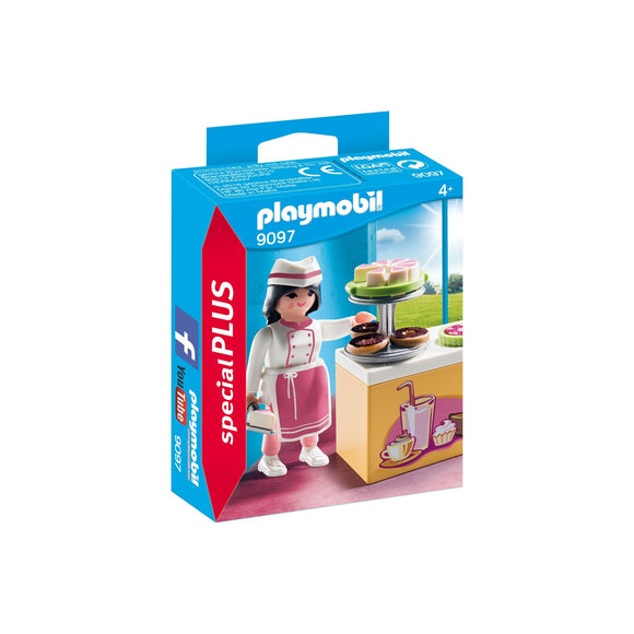 Playmobil Special Plus Pastry Chef-9097-Animal Kingdoms Toy Store