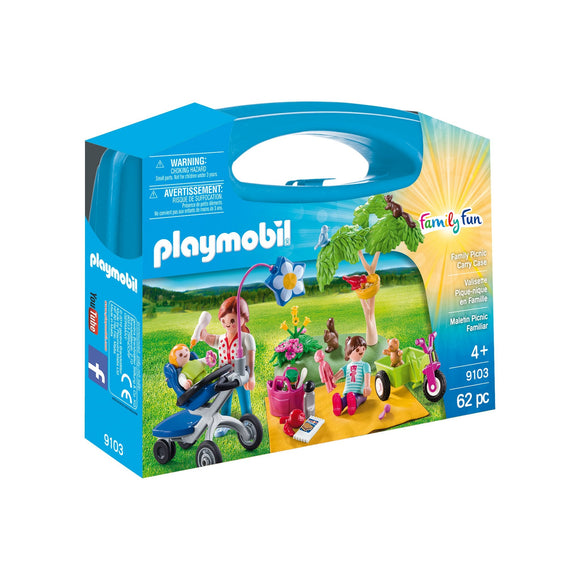 Playmobil Family Picnic Carry Case-9103-Animal Kingdoms Toy Store
