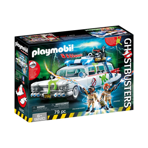 Playmobil Ghostbuster Ecto-1-9220-Animal Kingdoms Toy Store
