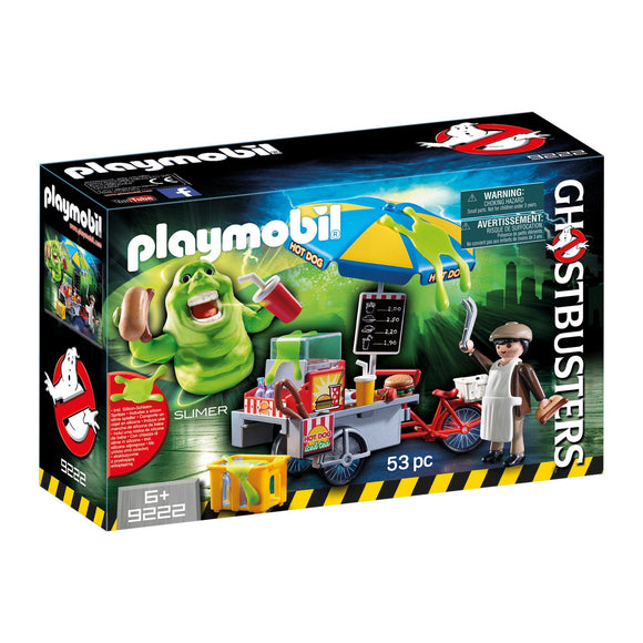 Playmobil Ghostbuster Slimer & Hotdog Stand-9222-Animal Kingdoms Toy Store