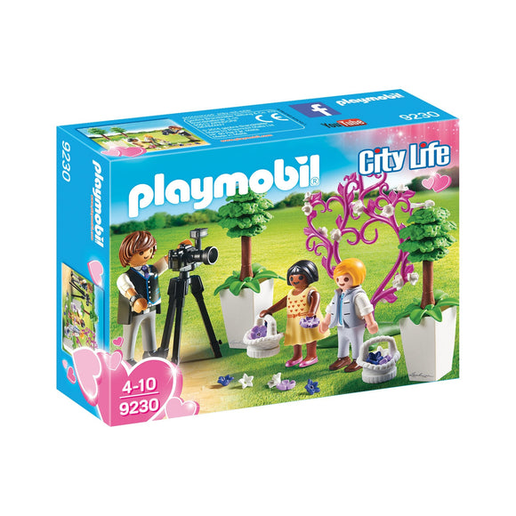 Playmobil City Life Flower Kid And Photographer