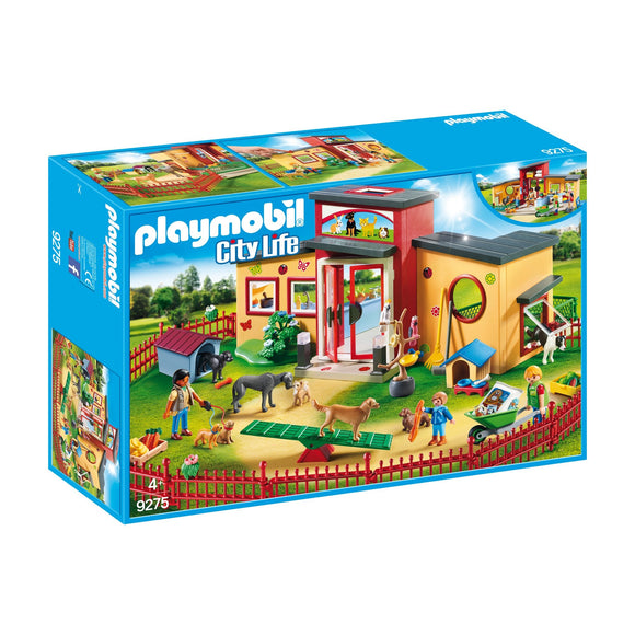 Playmobil Tiny Paws Pet Hotel-9275-Animal Kingdoms Toy Store