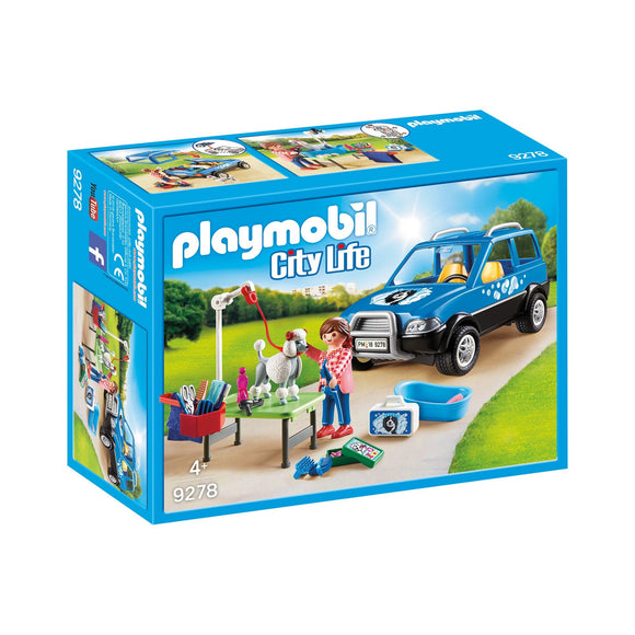 Playmobil Mobile Pet Groomer-09278-Animal Kingdoms Toy Store