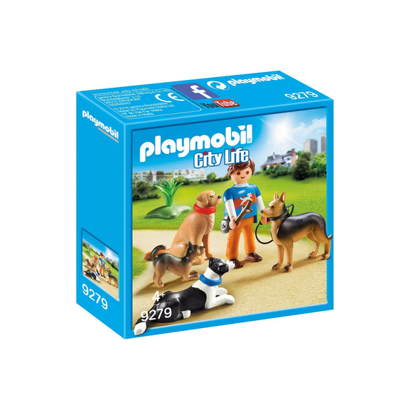Playmobil Dog Trainer-09279-Animal Kingdoms Toy Store