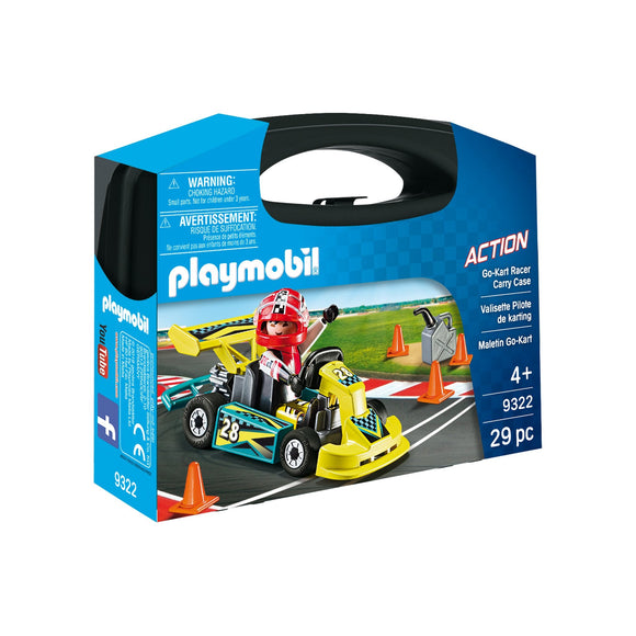 Playmobil Go-Kart Racer Carry Case-9322-Animal Kingdoms Toy Store
