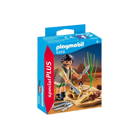 Playmobil Special Plus Archeologist-9359-Animal Kingdoms Toy Store