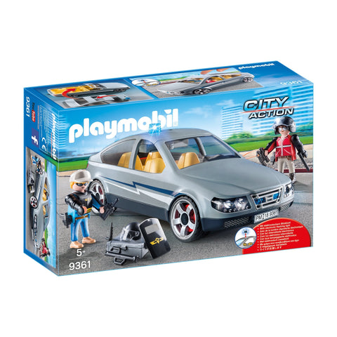Playmobil Tactical Unit Undercover Car-9361-Animal Kingdoms Toy Store