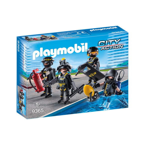 Playmobil Tactical Unit Team-9365-Animal Kingdoms Toy Store