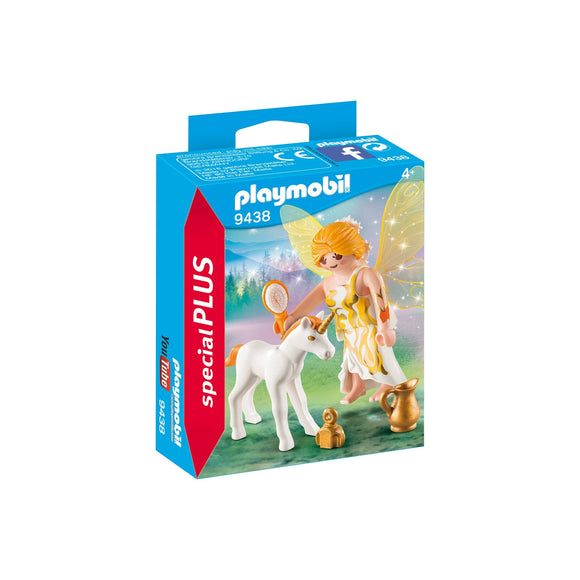 Playmobil Special Plus Sun Fairy With Unicorn-9438-Animal Kingdoms Toy Store