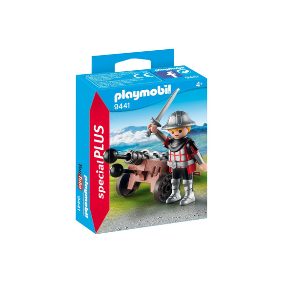 Playmobil Special Plus Knight With Cannon-9441-Animal Kingdoms Toy Store