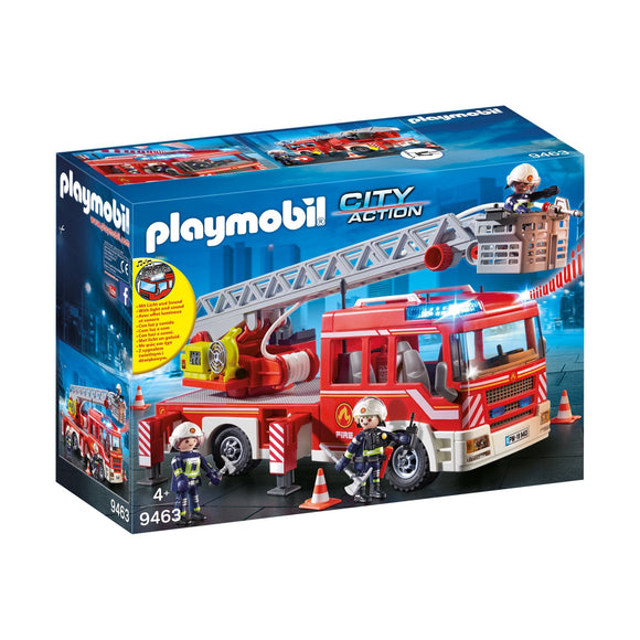 Playmobil City Action Fire Ladder Unit-9463-Animal Kingdoms Toy Store