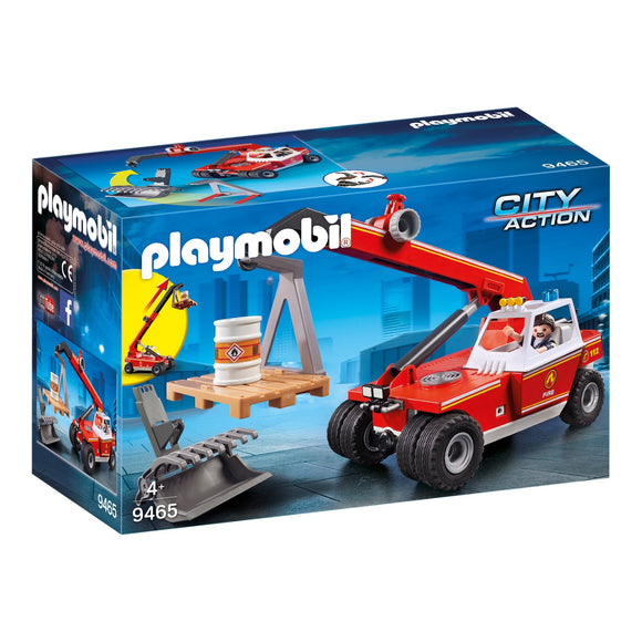 Playmobil City Action Fire Crane-9465-Animal Kingdoms Toy Store