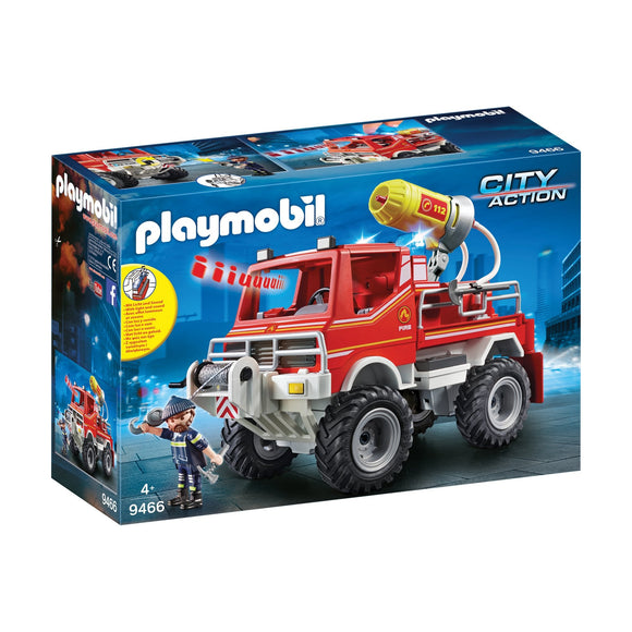 Playmobil City Action Fire Truck-9466-Animal Kingdoms Toy Store