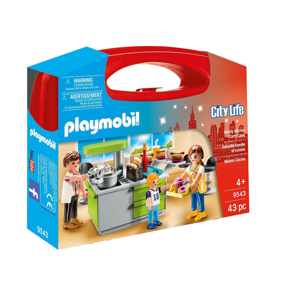 Playmobil Family Kitchen Carry Case-9543-Animal Kingdoms Toy Store