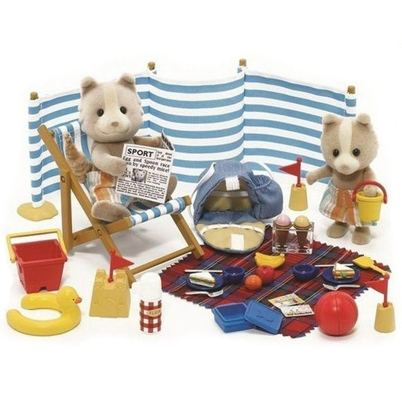 Sylvanian Families Day At The Seaside - AnimalKingdoms.co.nz