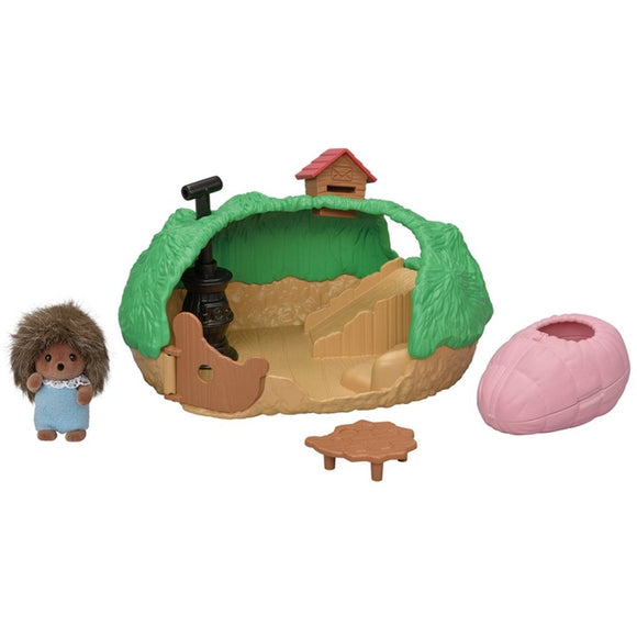 Sylvanian Families Baby Hedgehog Hideout - AnimalKingdoms.co.nz