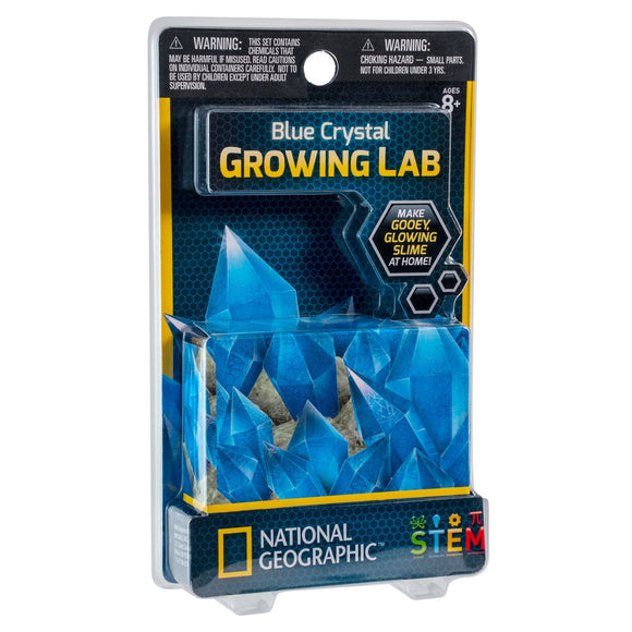 National Geographic - Crystal Growing Powder Blue-Animal Kingdoms Toy Store