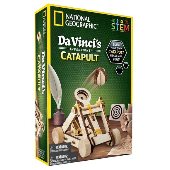 National Geographic DaVinci Inventions Catapult-NGDAVCAT-Animal Kingdoms Toy Store